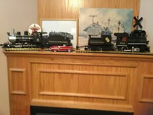 G Scale LGB  Steam Engines
