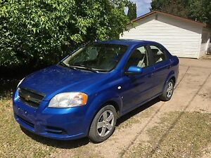 2007 CHEVROLET AVEO!! Only 120,000 KM!!