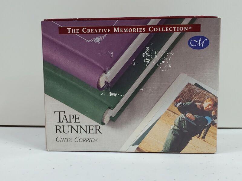 Creative Memories Tape Runner 34 Feet Double Sided  Self Adhesive NIB