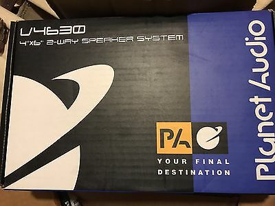 Brand New Planet Audio V4630 4x6 Speakers