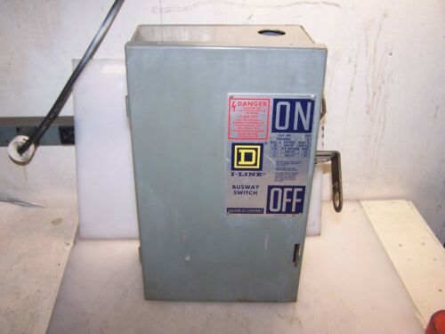 SQUARE D 60 AMP I-LINE FUSIBLE BUSWAY SWITCH BUS PLUG PQ4606G 3PH 4W 600 VAC