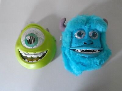 Monsters Inc Sully & Mike Mask Lot Halloween Costume Cosplay Disney Pixar ](Monsters Inc Halloween Costumes Mike)
