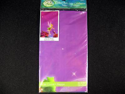 Tinkerbell Table Cover (Disney Tinker Bell TABLE COVER Birthday Party Supplies 54 x 102)