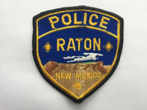Raton NEW MEXICO Police Patch