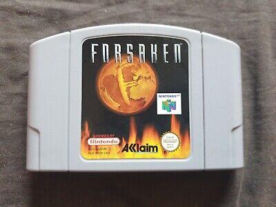 FORSAKEN Nintendo 64 Game N64