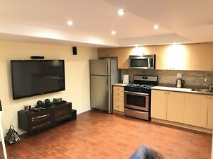 Short term rental 2 bed basement Square 1