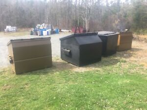 Front load containers for sale