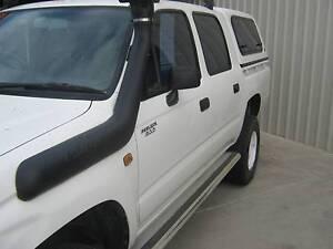 1998 Toyota Hilux Ute DIESEL DAUL CAB 4X4 Goolwa Alexandrina Area Preview