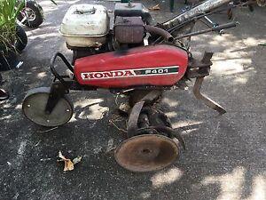 Honda petrol rotary hoe Dundas Parramatta Area Preview