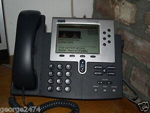 CISCO IP 7960 multi-line IP telephone  7960G SIP VOIP phone