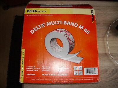 4 Rollen Dörken Delta Multiband M 60 / 25 m Klebeband