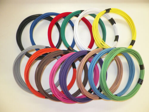 16 gauge TXL wire - Individual Solid Color and Size Options