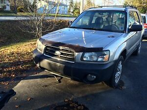2005 Subaru Forester x good Safety parts it needs (see ad)