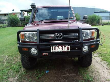 2008 Toyota LandCruiser Ute Tully Cassowary Coast Preview