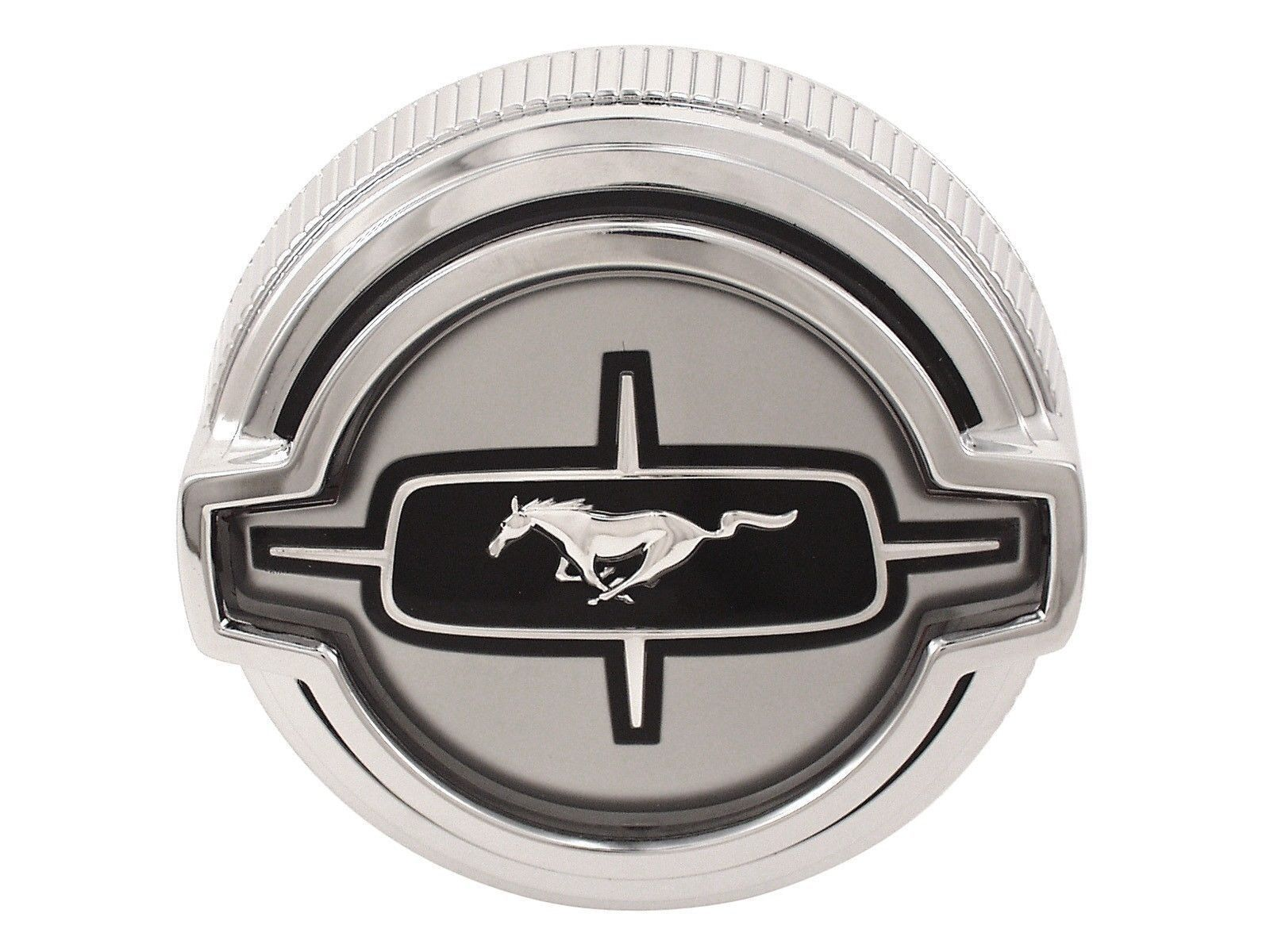 1968 ford mustang fuel gas cap ford licensed scott drake outstanding chrome
