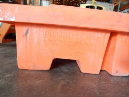 Spill-killer 10909 Poly Spill Pallet 4 Drum or tote secondary containment unit
