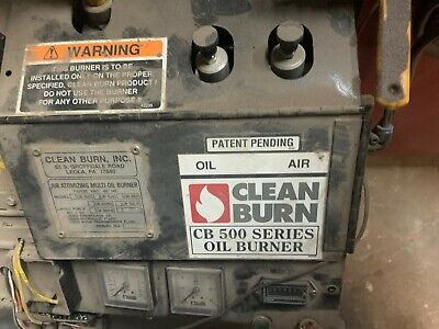 Cb2800 Cleanburn Waste Oil Burners