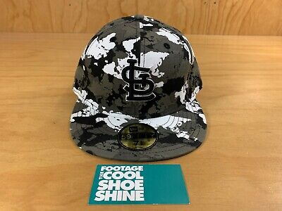 Louis Cardinals Camo (NEW ERA MLB ST. LOUIS CARDINALS ALTERNATE CAMO 59FIFTY FITTED HAT GRAY 7 5/8)
