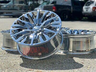 "22"" Chrome Chevy Silverado Suburban GMC Sierra Yukon Denali Rims Wheels Escalade"