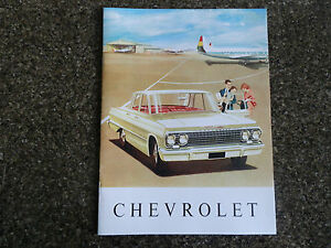 1963 CHEVROLET. ''RARE'' RHD AUST SALES  BROCHURE  100% GUARANTEE
