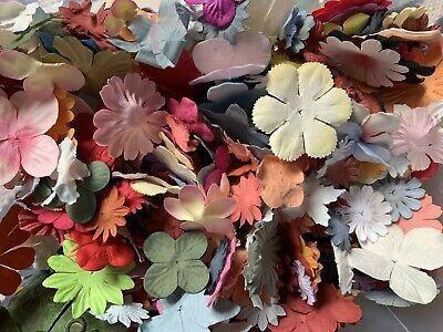 Scrapbooking Papierblumen Überraschung 50 Stück Blumen Bunt Basteln