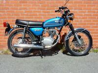 Honda CB125S by Classic Motorcycles Ltd, NORTHWICH, Cheshire