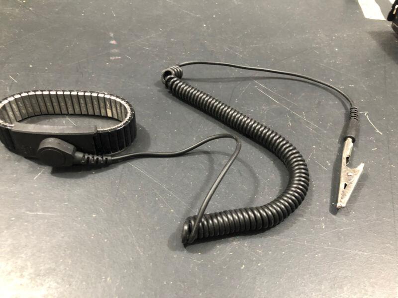 Desco 9030A Magnetic Antistatic Snap Wrist Strap Adjustable Speidel USA Made