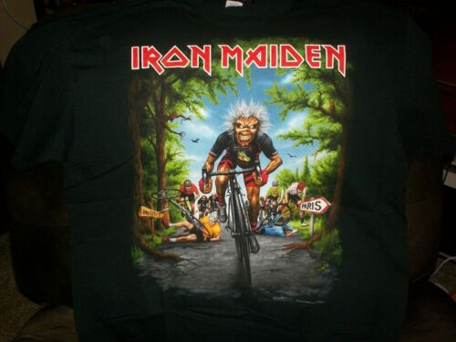 Iron Maiden Official 2018 Paris Event Shirt Dated XL Legacy of the Beast