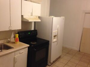 Spacious 3 bedroom apartment/Steps to Main Street Subway