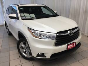 2016 Toyota Highlander Limited: Navigation, back up camera