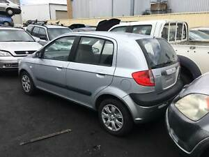 Hyundai Getz 2007 silver wrecking Welshpool Canning Area Preview
