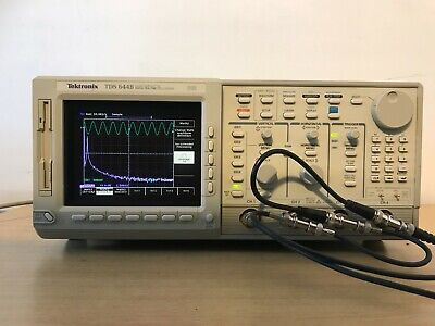 Tektronix Oscilloscope Tds644b 500mhz 2.5gss In Perfect Working Condition.