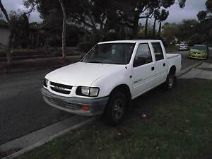Holden Rodeo 2002 man v6 4 door ute Endeavour Hills Casey Area Preview