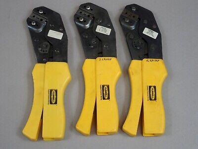 Lot Of 3 Hubbell Crimp Tools