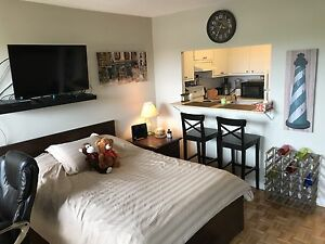 Studio Sublet - Bliss - Turn Key - $1075 (w/indr prkg)