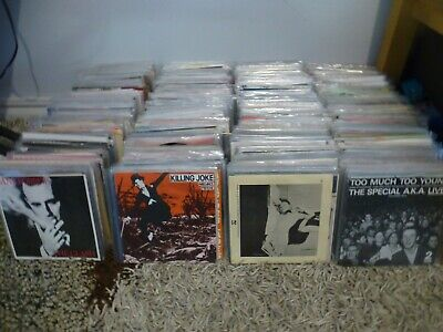 800   .PUNK ,POST PUNK ,NEW WAVE INDIE ..7INCHES.RARITIES,COLLECTEORS CLASSICS