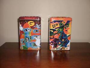 2  Beautiful  Halloween  Tins Fairfield Heights Fairfield Area Preview