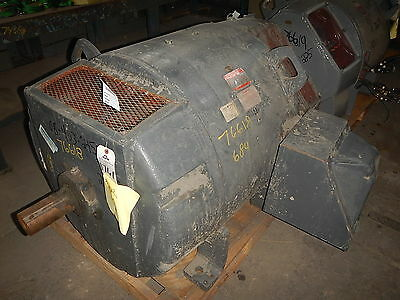 250 HP DC General Electric Motor, 850 RPM, 684AS Frame, DPFV, 500 Volts
