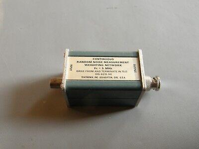 Tektronix 015-0215-00 Random Noise Measurement Weighting Network Module 5 Mhz
