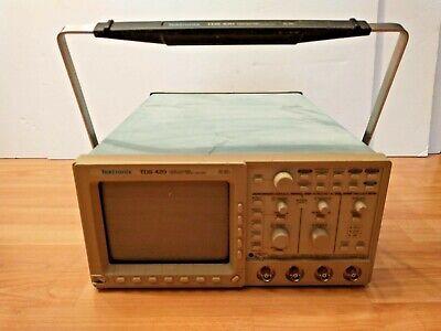 100 Untested Tektronix Tds420 Digital Oscilloscope 150 Mhz 4 Channel B011968
