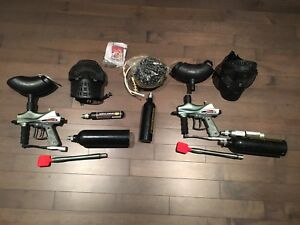 2 Paintball Sets - Great for Beginners or for guests!