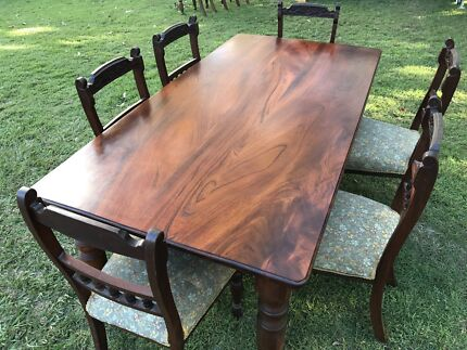 Dining table with six chairsDining TablesGumtree Australia