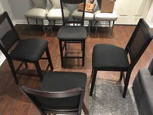 Bar stool chairs , high seated