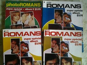 Vieux romans photos et romans Harlequins
