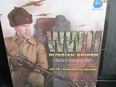 KOULIKOV WWII RUSSIAN SNIPER STALINGRAD DISPLAY CARD DiD