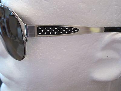 Sama-Mens Sunglasses California  Brushed Silver- Sz 64 NWT Retail $657