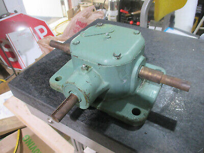 Nord Sk Right Angle Dual Output Gearbox 11 Ratio 2653-m-2-1