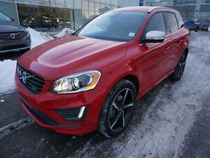 2015 Volvo XC60 T6 R Platinum Certified Pre-Owned Warranty!