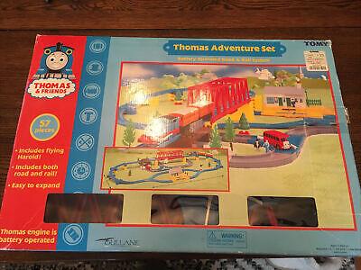 Vintage Tomy Thomas & Friends Thomas Adventure Set Road & Rail System Tomica