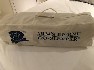 Arms Reach co sleeper baby bassinet